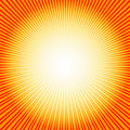 Abstract  background with sunburst (vector) Royalty Free Stock Photo