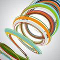 Abstract background, swirling lines, colorful vector illustration Royalty Free Stock Photo