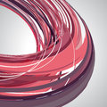 Abstract background, swirling lines, pink vector illustration Royalty Free Stock Photo