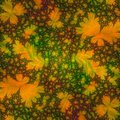 Abstract Background Template Design resembling Autumn Leaves Royalty Free Stock Photo