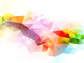 Abstract background triangular design Royalty Free Stock Image