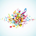 Abstract background with tunes. Stock Photo