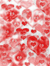 Abstract background for Valentine's Day Stock Photos