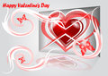 Abstract background from valentines day Stock Photo