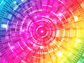 Abstract background vector colors line and flare Royalty Free Stock Photography