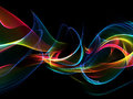 Abstract background in vivid colors and black editable easy to remove a black or color change Stock Photo