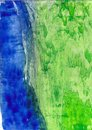 Abstract background with wax encaustic effect Royalty Free Stock Photos
