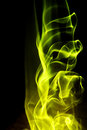 Abstract background - yellow fire shape Royalty Free Stock Photo