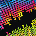Abstract backgrounds disco lights Stock Image