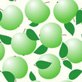 Abstract backgrounds with green apples Stock Photo