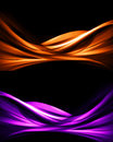 Abstract backgrounds modern design of on black background Stock Photo