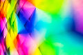 Abstract backgrounds multicolors on plastic pattern Stock Image