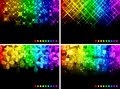 Abstract backgrounds vector illustration of luminosity Stock Images