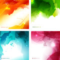 Abstract backgrounds vector illustration of luminosity Royalty Free Stock Image