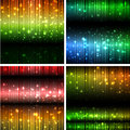 Abstract backgrounds vector illustration of luminosity Royalty Free Stock Photos