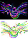 Abstract backgrounds in vivid colors and black background editable easy to remove a black background or color change Royalty Free Stock Images