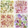 Abstract backgrounds, watercolor, leafs Stock Photo