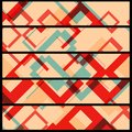 Abstract banner for your design geometric shape illustration Stock Photography
