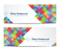 Abstract banners Stock Photography