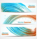 Abstract banners or headers Royalty Free Stock Images
