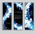 Abstract Banners. Vector Eps10 Backgrounds. Royalty Free Stock Photo