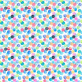 Abstract beautiful artistic tender wonderful transparent bright blue, green, red, pink, yellow, orange, navy circles pattern water