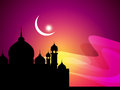 Abstract beautiful religious eid background Royalty Free Stock Photos