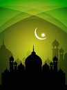 Abstract beautiful spiritual eid background Royalty Free Stock Photos
