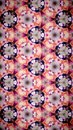 Abstract beautify flower bokeh pattern background fiower pink purple red white color wallpaper Royalty Free Stock Photography