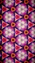 Abstract beautify flower bokeh pattern background fiower pink purple red white color wallpaper Royalty Free Stock Photo