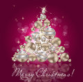 Abstract beauty Christmas and New Year background. Royalty Free Stock Photos