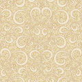 Abstract beige floral seamless background Stock Photo