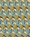 Abstract Birds Background, Fas...