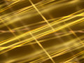 Abstract black background with gold luminous lines dark Royalty Free Stock Photography