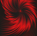 Abstract black and red metallic background with swirl Royalty Free Stock Photo