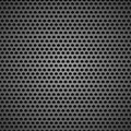 Abstract black speaker grill background Royalty Free Stock Photo
