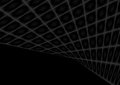 Abstract black squares tech perspective background