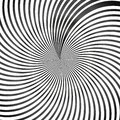 stock image of  Abstract black and white op art background