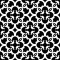 Abstract black and white pattern. Vector