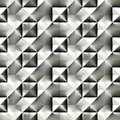 Abstract black and white plastic checked pattern. Royalty Free Stock Photo