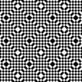 Abstract black and white tiles Royalty Free Stock Photos