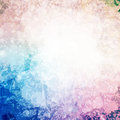 Abstract blot colorful background an banner illustration Royalty Free Stock Images