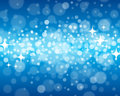 Abstract blue background a blurry defocused illustration Royalty Free Stock Photo