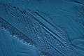 Abstract blue background cold ice texture with cracks Royalty Free Stock Photos