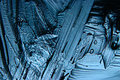 Abstract blue background cold ice texture with cracks Royalty Free Stock Photography