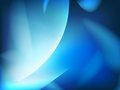 Abstract blue background, futuristic wavy. Royalty Free Stock Photo
