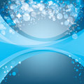 Abstract blue background, holiday template Stock Images