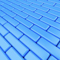 Abstract blue background pavement Royalty Free Stock Photos