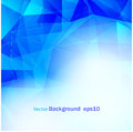Abstract blue background poly EPS10 Royalty Free Stock Photo