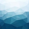 Abstract blue background triangle geometrical multicolored vector illustration eps Stock Photo